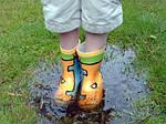 Преимущество непромокаемой обуви для детей
