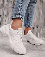 Женские кроссовки  натуральные на шнурках , чёрный, фото 1