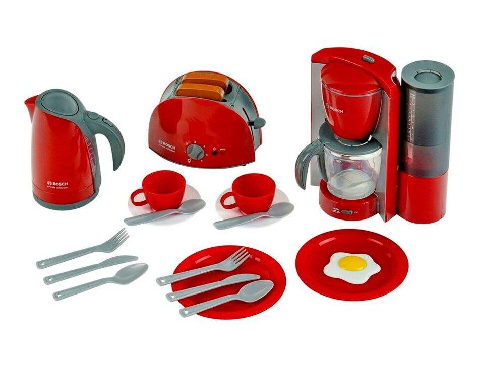Набір для сніданку Bosch Klein з тостером, кавоваркою і чайником (9564)