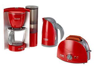 Набор техники для завтрака Bosch Klein с тостером, кофеваркой и чайником (9580)