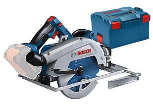 Акумуляторна циркулярна пила Bosch Professional GKS 18 V-68 GC + L-Boxx 238 + диск по дереву 190 мм