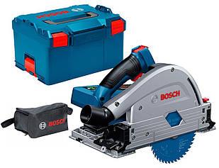Акумуляторна заглибна пила Bosch Professional GKT 18V-52 GC + L-Boxx 238 + диск 140 мм (06016B4000)