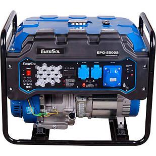 Генератор бензиновий EnerSol EPG-5500S, однофазний, 5.5 кВт, бак 26 л, ручний пуск (EPG-5500S)
