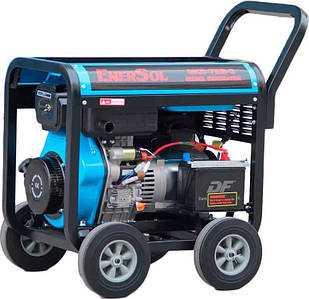 Генератор дизельний EnerSol SKD-7E-3B, трифазний, 6.5 кВт, електростартер, бак 12.5 л (SKD-7E-3B)