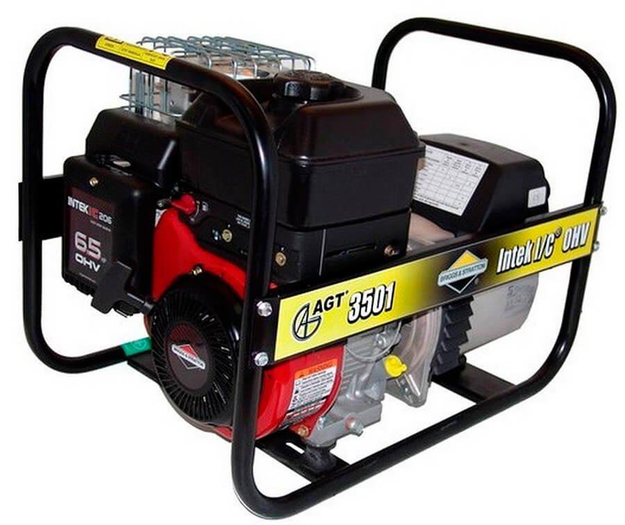 Генератор бензиновий AGT 3501 BSB SE, однофазний, 3,3 кВт, ручний стартер, бак 4.1 л (PFAGT3501BNC/E)