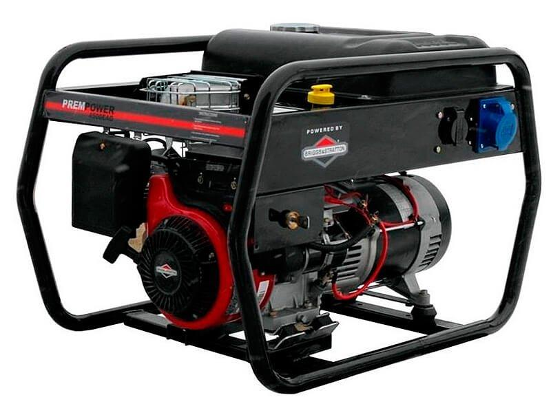Генератор бензиновий AGT 4500 EAG, однофазний, 5.2 кВт, AVR, електростартер, бак 16 л (PFEAG4500B)