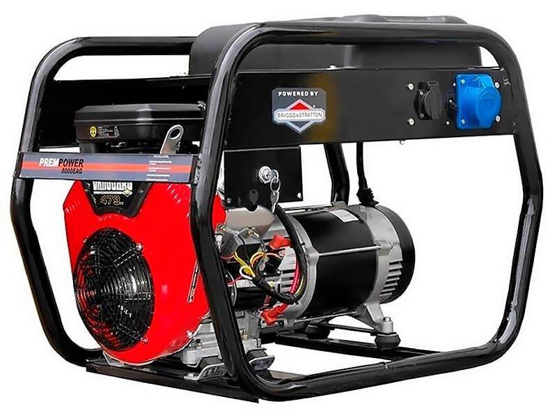 Генератор бензиновий AGT 8000 EAG, однофазний, 8 кВт, AVR, ручний/електростартер, бак 16 л (PFEAG8000R)