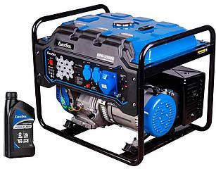 Генератор бензиновий EnerSol EPG-5500S + 1 л масла EnerSol Supreme-10W40 4T (EPG-5500SA)