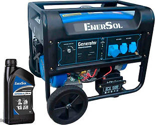 Генератор бензиновий EnerSol SG-8EAMB + 1 л масла EnerSol Supreme-10W40 4T (SG-8EAMBA)