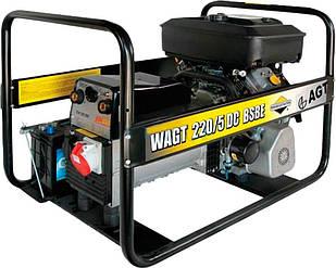 Генератор зварювальний AGT WAGT 220 DC BSB SE, 5.2 кВт, бак 6.6 л, AVR, ручний старт (PFWAGT22DBS/E)