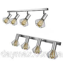 Светильник лофт MSK Electric Diadem настенно-потолочный NL 22151-4 CR хром