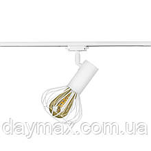Светильник трековый MSK Electric Lotus в стиле лофт NT 14151-1 WH