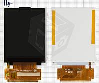 Дисплей (LCD) для Fly DS124, оригинал
