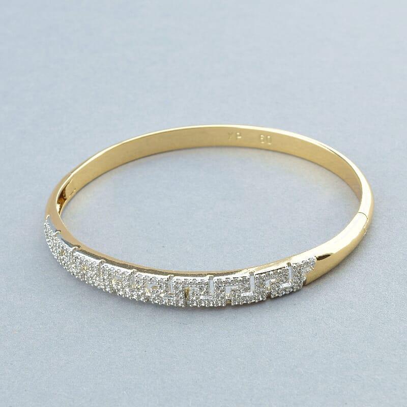 Браслет на руку на руку ювелірна біжутерія позолота з фіанітами медичне золото Xuping Jewelry Jewelry