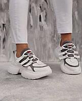 Женские кроссовки  натуральная кожа , белые, фото 1