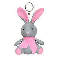 """М'яка світловідбиваюча іграшка-талісман Refloactive """"Зайчик"""" рожевий"""