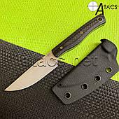 Bestech Knife Нож нескладной HEIDIBLACKSMITH Black BFK01C