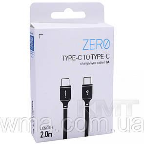 Momax DC17 Zero Type C To Type C Cable (2m) Black