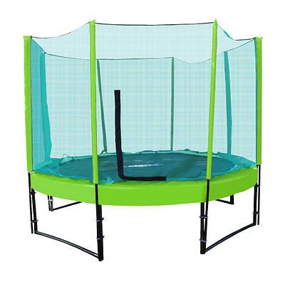 Батут с сеткой  KIDIGO Premium 244 см (green-green) (222760)