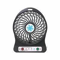 Портативный мини вентилятор с аккумулятором Portable Fan (3288)