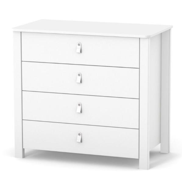 Комод Верес Монако 900 Белый 89х49,2х84,7 см