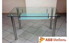 Стол стеклянный обеденный Olivier (Halmar ТМ), фото 2