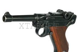 Пистолет стартовый ME Luger P-08 9 мм