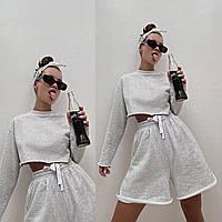 Жіночий легкий вільний літній спортивний костюм,женская спортивная одежда S M