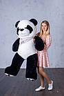 Ведмедик Плюшевий Yarokuz Панда з серцем 165 см, фото 2