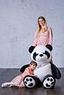 Ведмедик Плюшевий Yarokuz Панда з серцем 165 см, фото 3