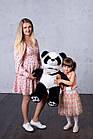 Мишка плюшевый Yarokuz Панда с сердцем 90 см, фото 3