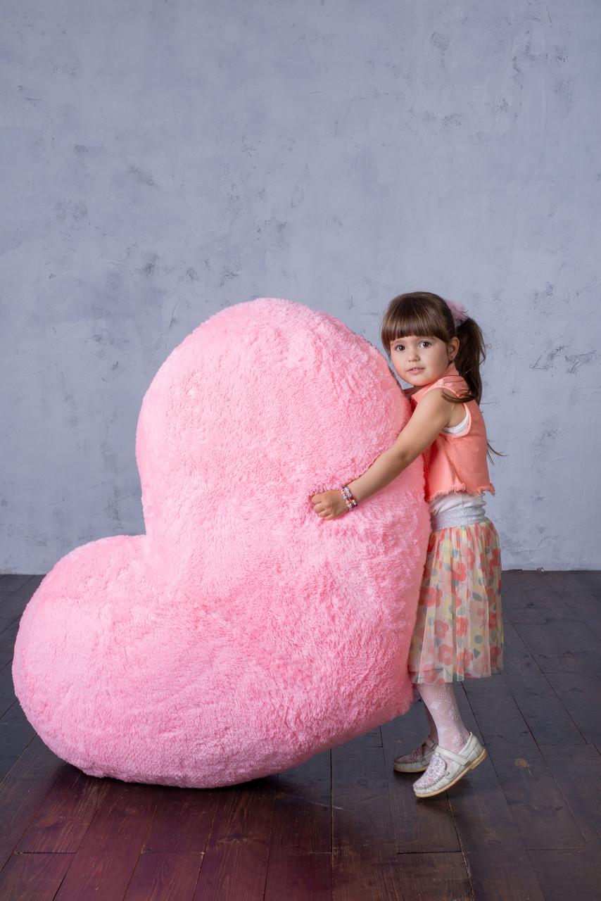 """М'яка іграшка Yarokuz подушка """"Серце"""" 150 см Рожева"""