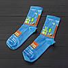 """Шкарпетки з високоякісної бавовни з оригінальним принтом """"Mario"""", фото 2"""