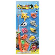 "Магнитная рыбалка ""Game Fishing"", 10 морских жителей 666-19"