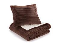 Набор Dormeo одеяло+подушка «Теплые объятия НЬЮ» (шоколад)