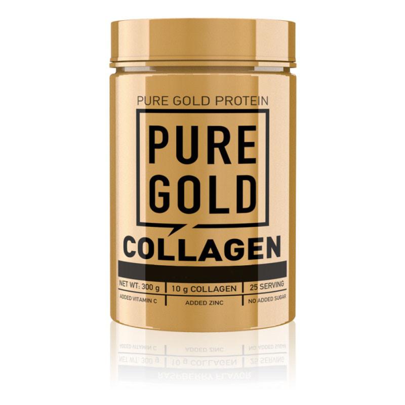 Для суставов и связок Pure Gold Protein Collagen, 300 грамм Зеленое яблоко