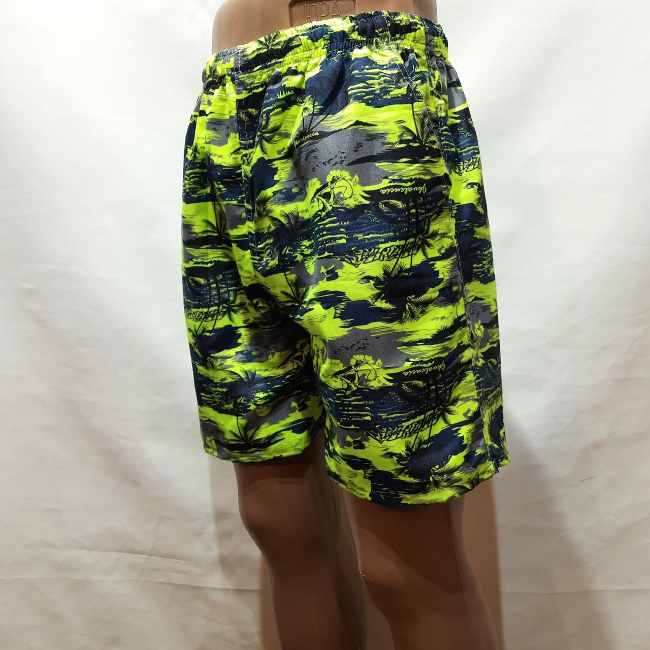 Мужские летние шорты пляжные есть внутренняя сетка