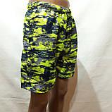 Мужские летние шорты пляжные есть внутренняя сетка, фото 4