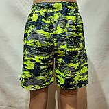 Мужские летние шорты пляжные есть внутренняя сетка, фото 3