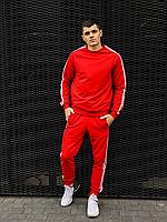 Красный спортивный костюм мужской   Украина   хлопок + полиэстер