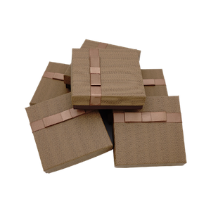 Подарочные коробочки для ювелирных украшений Коричневый