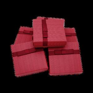 Подарочные коробочки для ювелирных украшений Красный