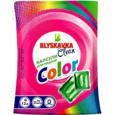 Blyskavka Капсулы для прання Color 12шт.
