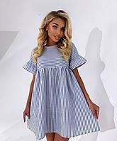 """Сукня жіноча молодіжна лляне, розміри S-L (2цв)""""MARGARET"""" купити недорого від прямого постачальник"""