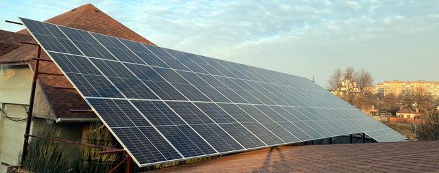 Солнечная электростанция 30 кВт на крыше