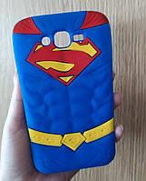 Силиконовый чехол Супермен (Superman) для Samsung J2