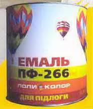 Эмали ПФ-266