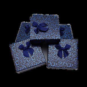 Подарочные коробочки для ювелирных изделий Черный