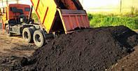 Чернозем плодородный для сада, газона, огорода. Доставка самосвалами. Борисполь