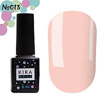 Гель-лак Kira Nails №013 (светлый персиково-розовый, эмаль), 6 мл, фото 1